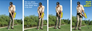 Straight Wrist Chipping from Golf Tips