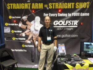 Will Curry, the inventor and developer of GOLFSTR+ was at the PGA Show presenting the 6-in-1 Golf Swing Training Aid.