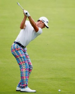"Forget the ""cool"" RLX brand Ralph Lauren pants. Check the great straight arm swing position. Billy has rhythm."