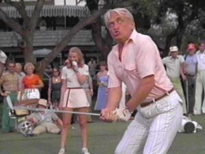 A great scene from Caddyshack.  Or is this what you look and feel like after your last bad shot.