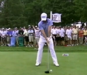 Rory McIlroy has an amazing straight arm swing.  Guess what? It's tension free and delivers amazing distance.