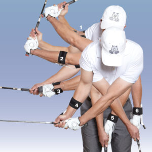 "GOLFSTR+ gives you the ""FEELING"" so practice with it and enjoy the feel of 6 control points in your swing."