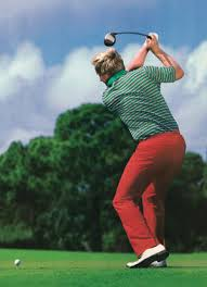 Let your trailing elbow fly like Jack Nicklaus and then swing up the inside slot to your target line. [My personal breakthrough]