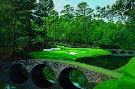 Can you image trying to hit this green at Augusta National. It's on 155 yards and it scares the pros too.