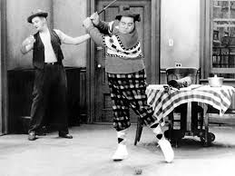 """Jackie Gleason, as Ralph Kramden, always used that famous line: """"How Sweat It Is"""" and """"Awaaay we go!"""""""