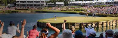 Pressure increases exponentially when a green is surrounded by water and thousands of blood thirsty fans are watching in silence.
