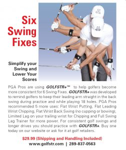 As Advertised in GOLF TIPS Magazine
