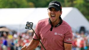 Don't you want the same feeling as Jason Day when you sink any putt at any length.